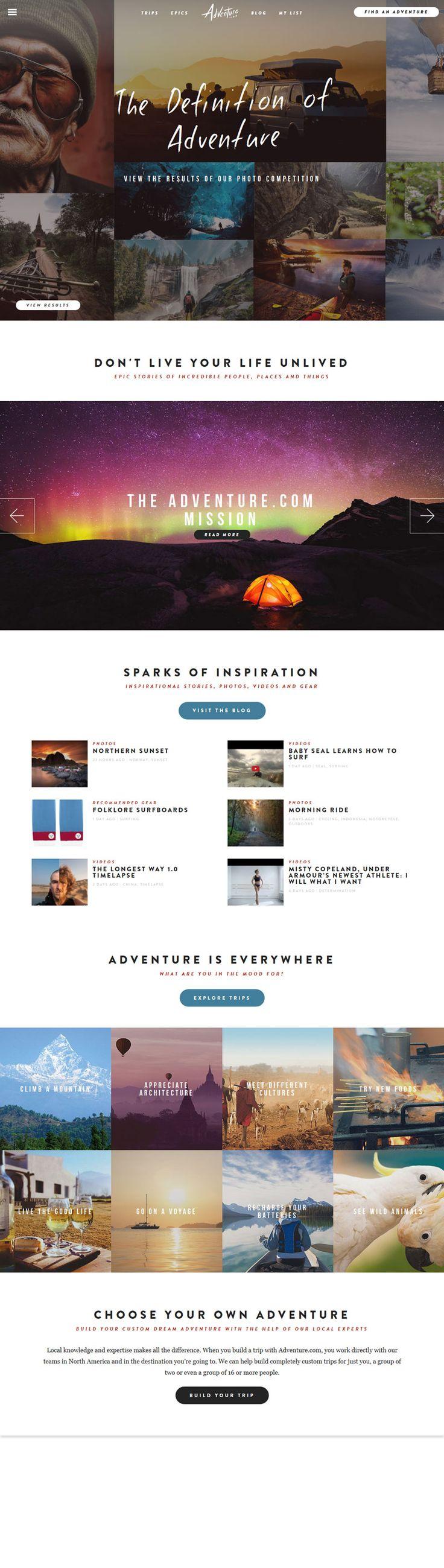 Adventure website