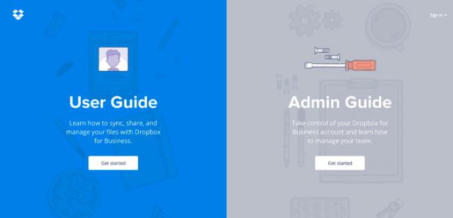 Dropboz Guide site