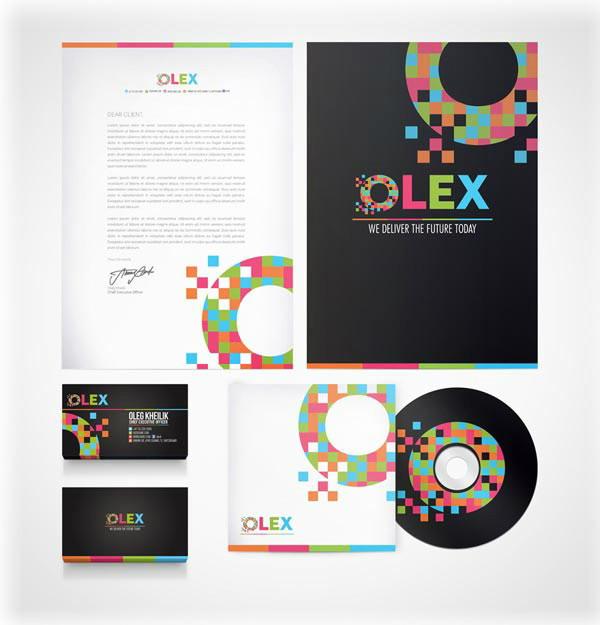 OLEX branding by Lemongraphic