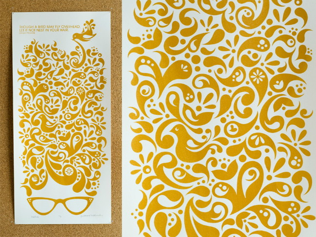 paisley print example