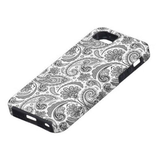 paisley print iPhone case