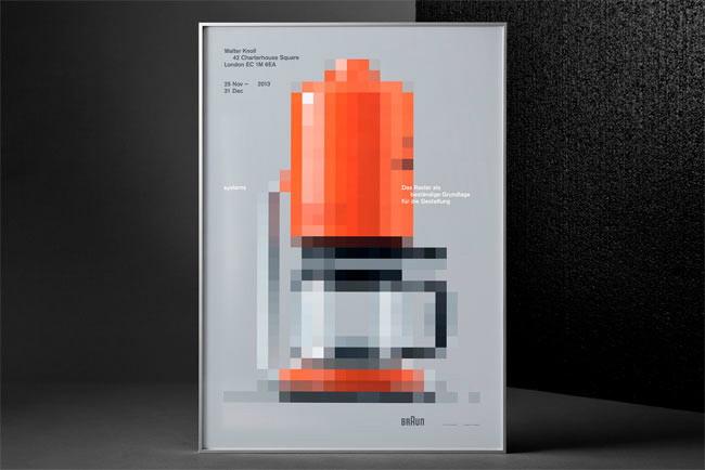 Braun poster by Lundgren Lindqvist