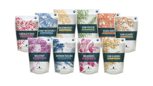 Superfoods collection packaging