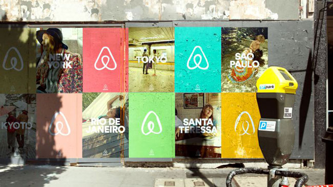 Good design Airbnb rebranding