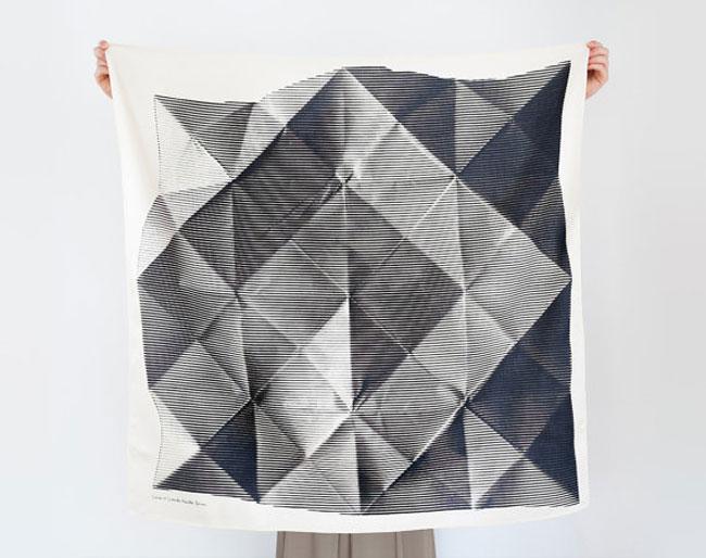 Good design Folded Paper Furoshiki