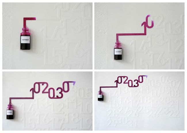 Good design Ink Calendar
