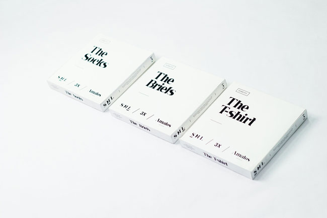 Good design Amatos shirt packaging
