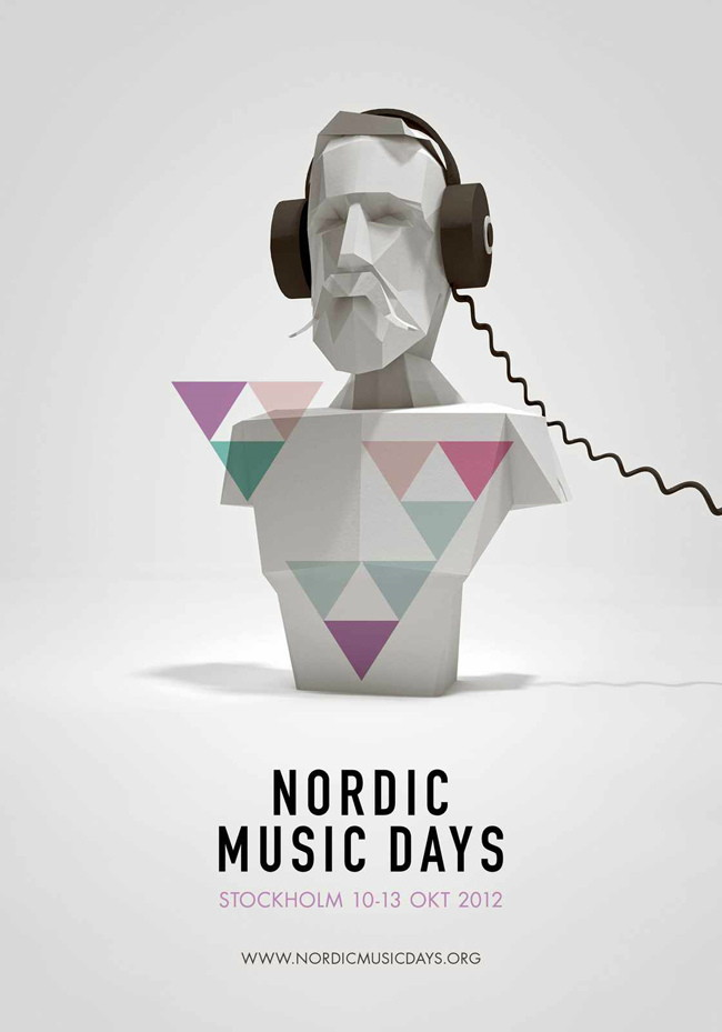 nordic music days poster