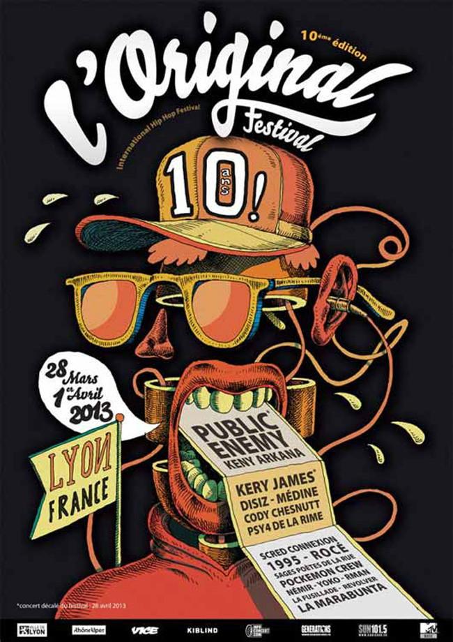 l'original festival poster
