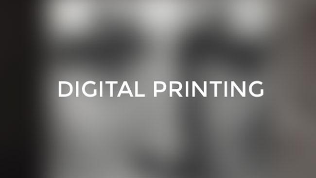 Digital printing cover