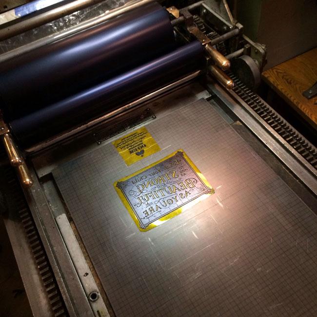 Letterpress printing photopolymer