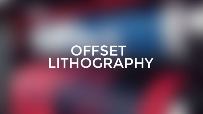 Offset lithography cover