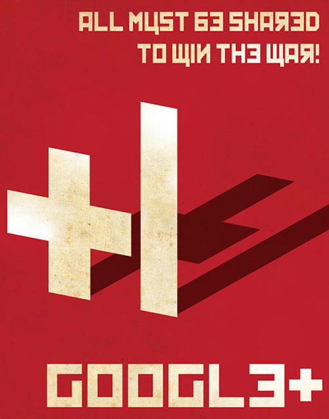 Google Communist poster