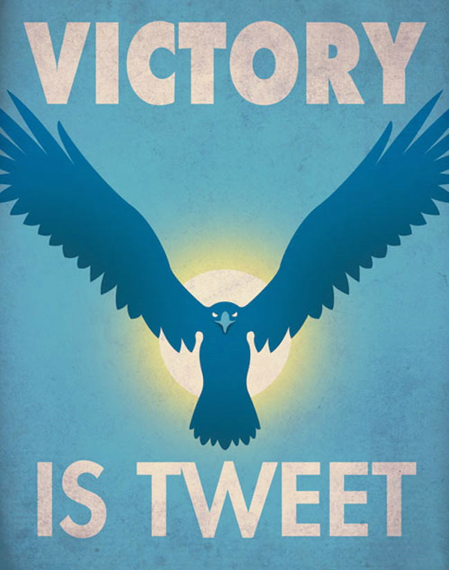 Victory is in a Tweet Poster