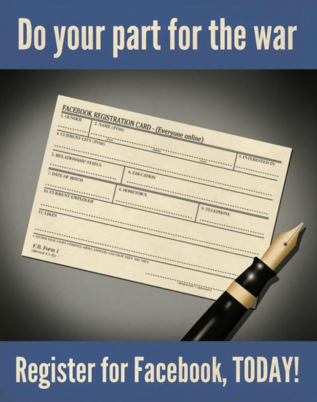 register for Facebook