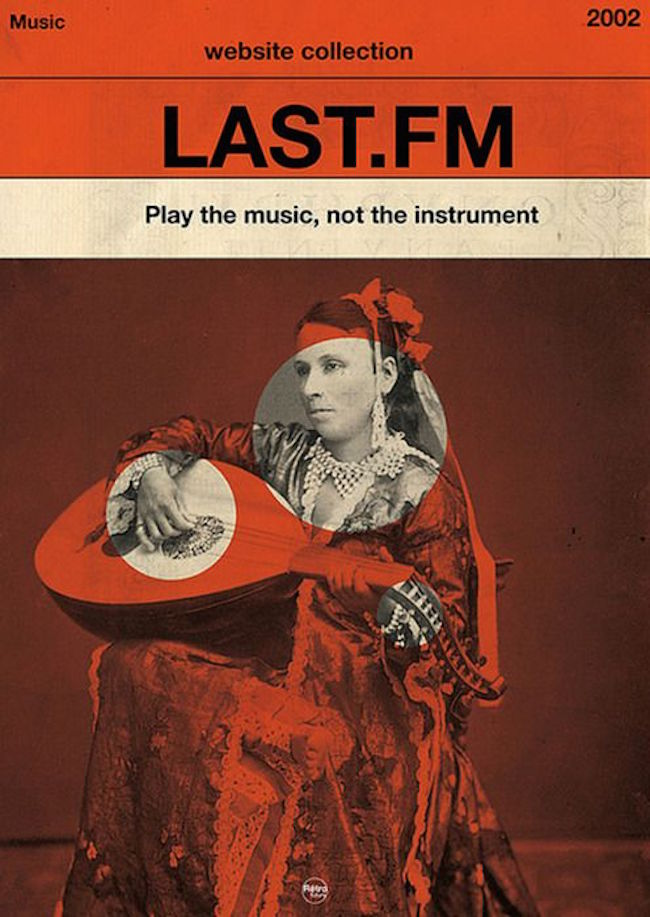 Vintage Last FM Music Poster