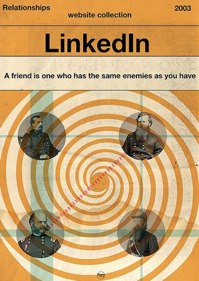 Linkedin Friends Poster